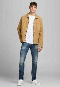 Jack & Jones - Straight leg -farkut - blue denim - 1