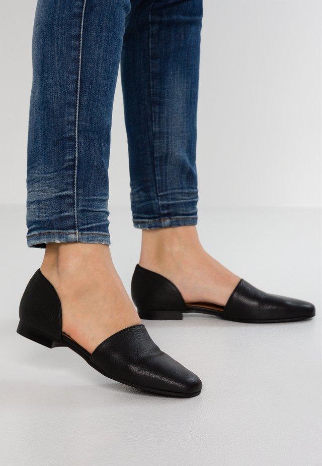 Loaferit/pistokkaat - sedona black