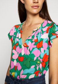 J.CREW - COCHE HANA MILDRED FLORAL - Blouse - purple/green - 5
