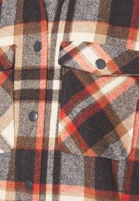 ONLY - ONLELLENE VALDA LONG CHACKET - Klassinen takki - blue/red - 6
