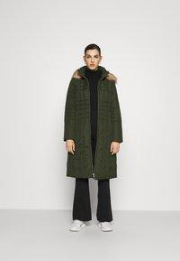 Calvin Klein - ESSENTIAL COAT - Winter coat - dark olive - 1