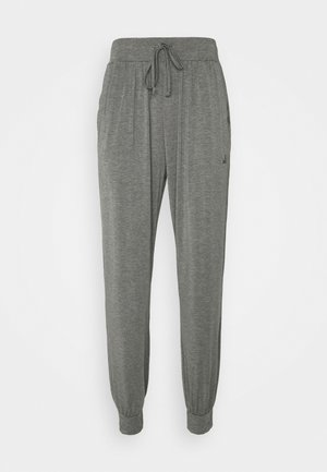MENS LONG PANTS - Tracksuit bottoms - anthrazit melange