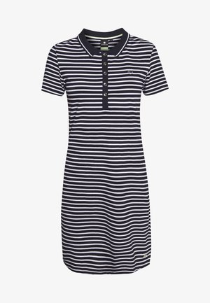 ANTSKOG - Jersey dress - dark blue