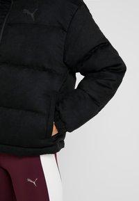 Puma - STYLE JACKET - Down jacket - puma black - 4