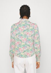 Monki - NALA BLOUSE - Košile - light green - 2