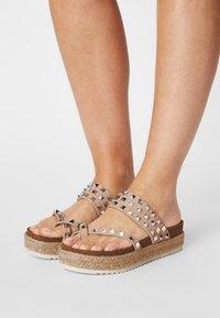 Madden Girl - CASE - T-bar sandals - nude - 0