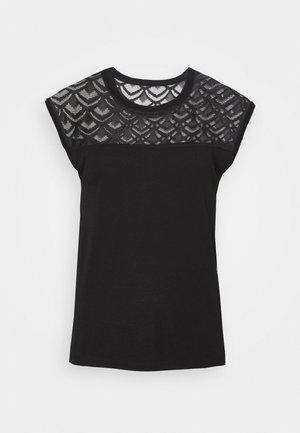 ONLNICOLE MIX - T-shirts print - black