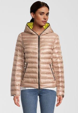 SOLARBALL - Light jacket - camel piselli