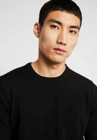 BY GARMENT MAKERS - THE MERINO KNIT ORGANIC - Strickpullover - anthracite - 4