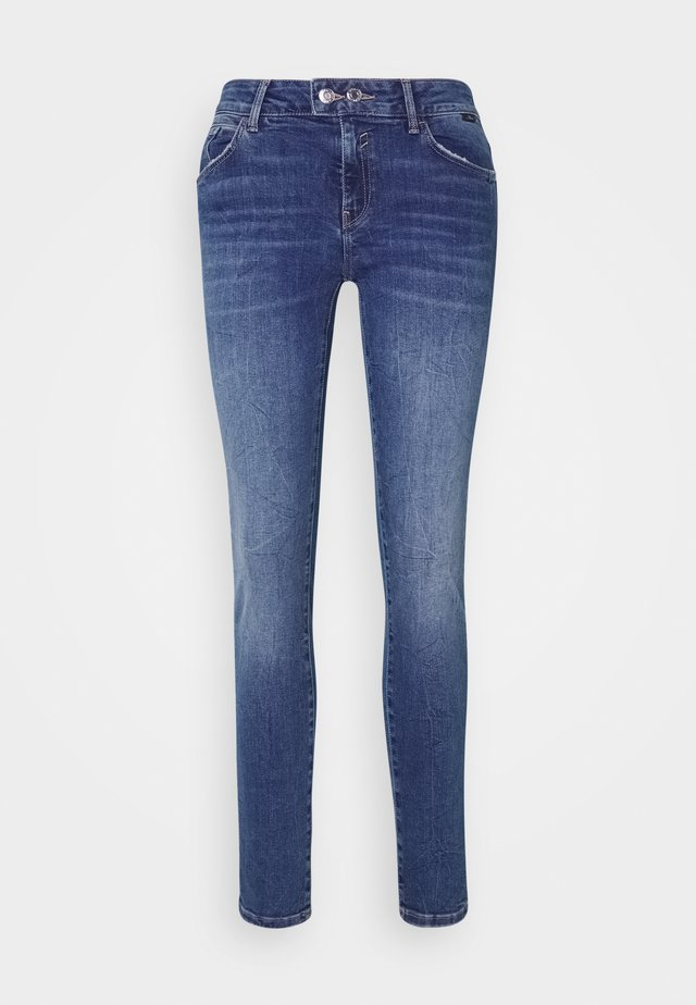 ADRIANA - Jeans Skinny - dark brushed glam