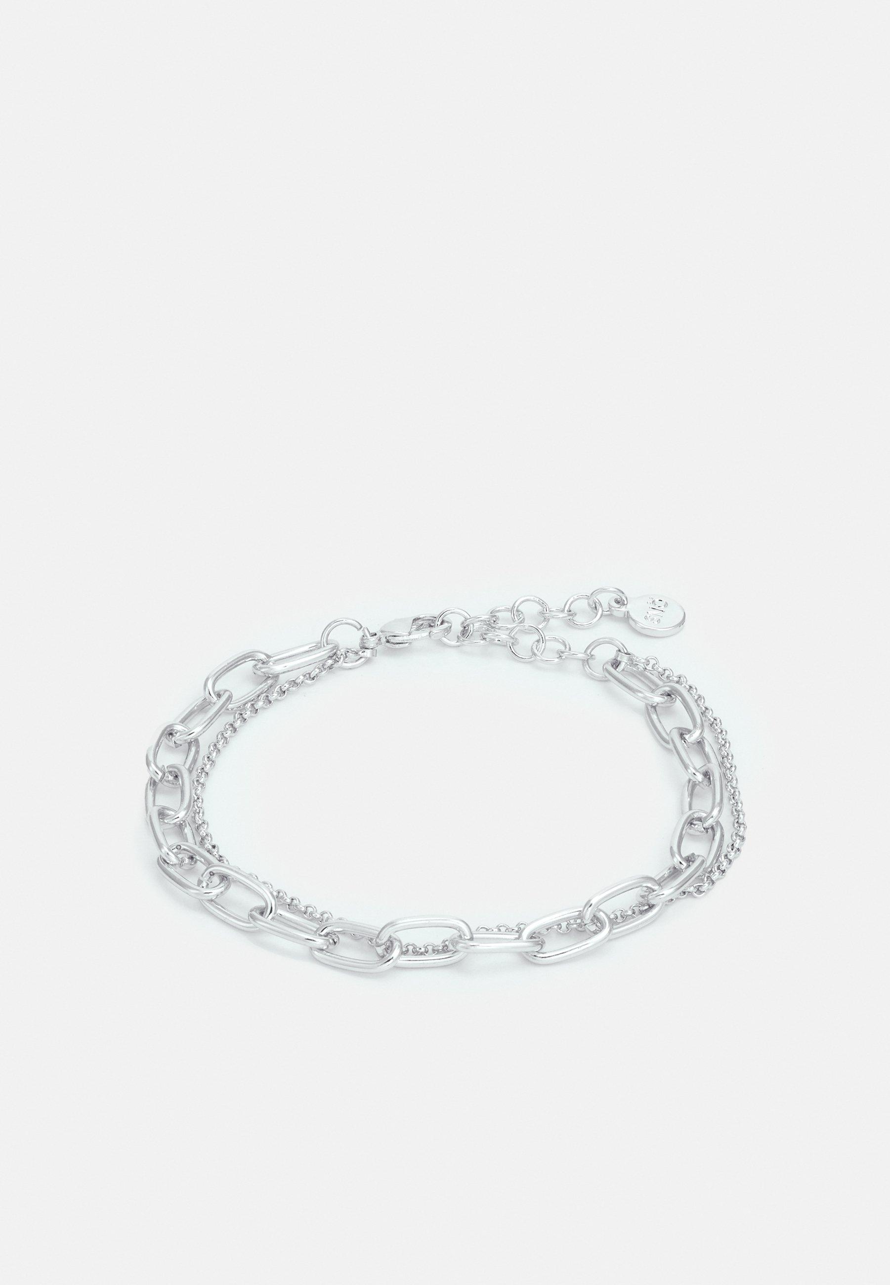 Femme KALI SMALL DOUBLE CHAIN BRACE PLAIN - Bracelet