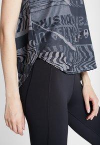 adidas Performance - OWN THE RUN TEE - Sports shirt - grefou/black - 4