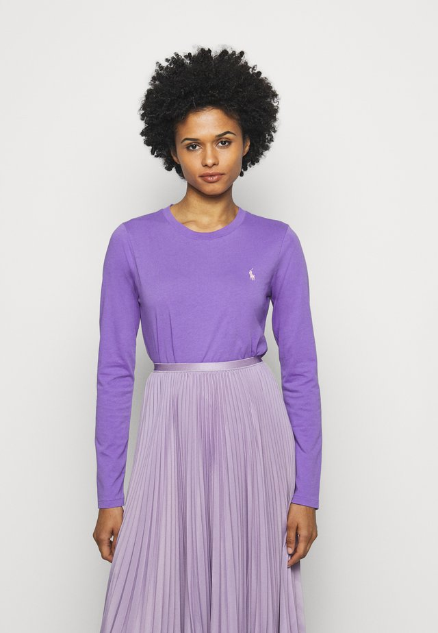 Long sleeved top - spring violet