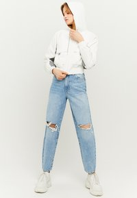 TALLY WEiJL - REFLEKTIERENDE - Outdoor jacket - white - 1