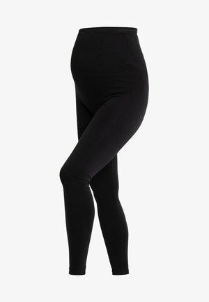 MATERNITY SUPPORT - Leggings - Stockings - black