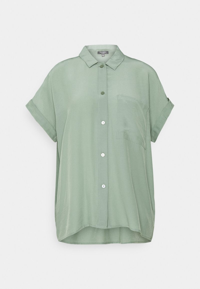 mine to five TOM TAILOR - EASY FIT - Button-down blouse - dusty leave green