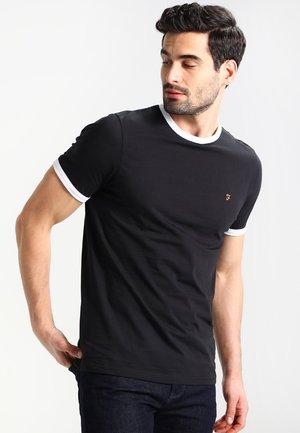 GROVES - Basic T-shirt - deep black