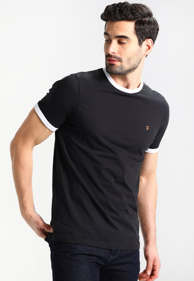 GROVES - Basic T-shirt - deep black