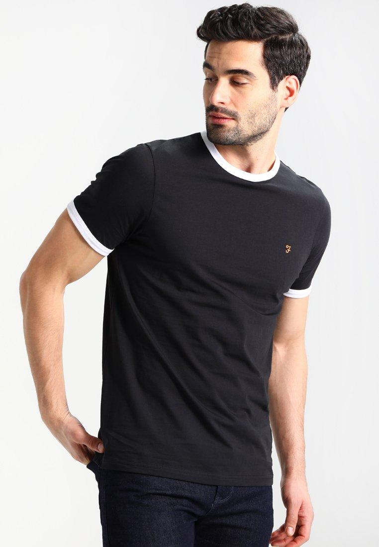 Farah - GROVES - Basic T-shirt - deep black