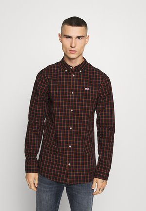 ESSENTIAL CHECK  - Shirt - black/multi