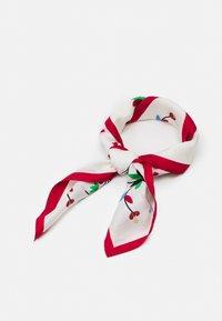 Polo Ralph Lauren - EMBELLISHED SCARF - Foulard - white/multi - 0