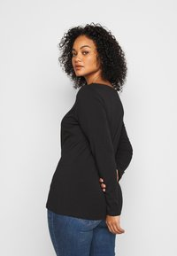Anna Field Curvy - Long sleeved top - black