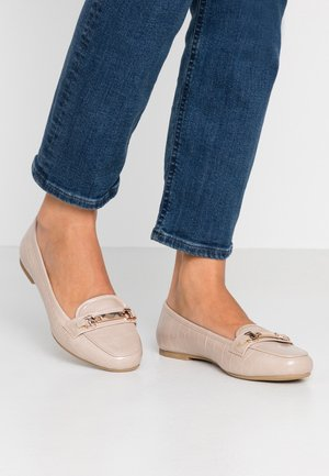 WIDE FIT LAIR - Slip-ons - blush