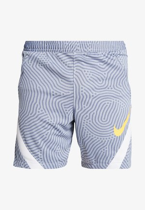 DRY STRIKE SHORT - Sports shorts - obsidian mist/diffused blue/laser orange
