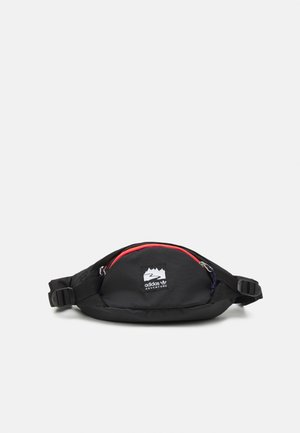 WAISTBAG S UNISEX - Bum bag - black/bright red/white