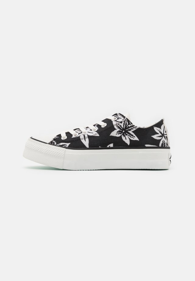 KEMPLEY - Sneakers laag - black/white