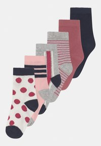 Name it - NKFKINA 6 PACK - Socks - grey melange - 0