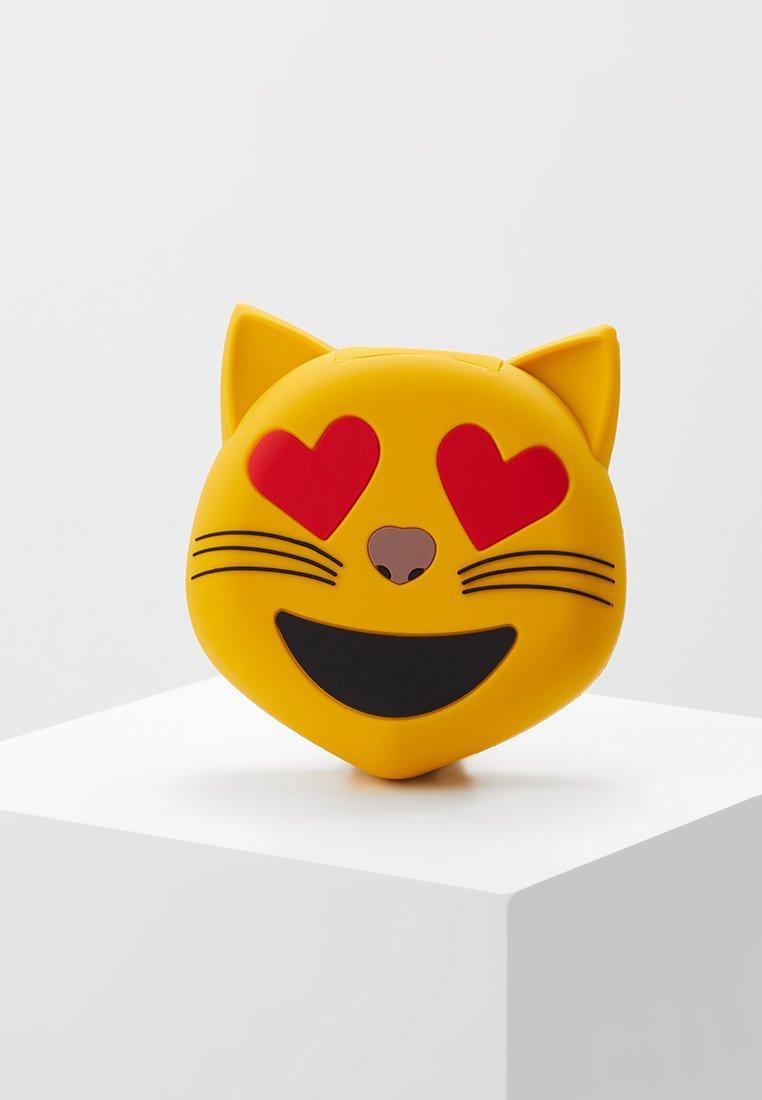 mojipower - LOVE CATEXTERNAL BATTERY - Power bank - yellow