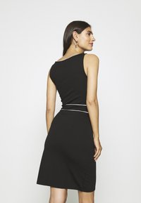 Anna Field - Pouzdrové šaty - black/white - 2