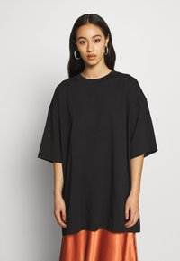 Weekday - BLISS  - T-shirts med print - black - 0