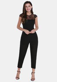usha - Tuta jumpsuit - black - 0