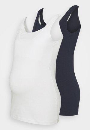 NURSING TOP 2 PACK - Top - navy blazer/snow white