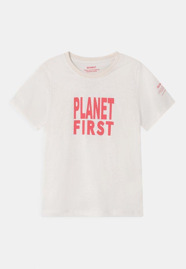 PLANET FIRST UNISEX - T-shirt print - antartica