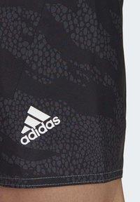 adidas Performance - PRIMEBLUE CLX SHORTS - Swimming trunks - black - 4