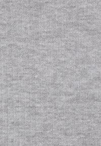 Pieces - PCBINE CROP 2 PACK  - Top - light grey melange/misty rose - 4
