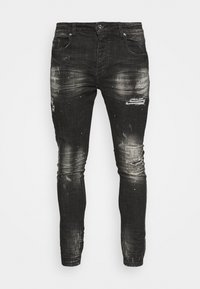 Kings Will Dream - OVERTON SUPERSLIM JEAN - Jeans Skinny Fit - washed black - 4
