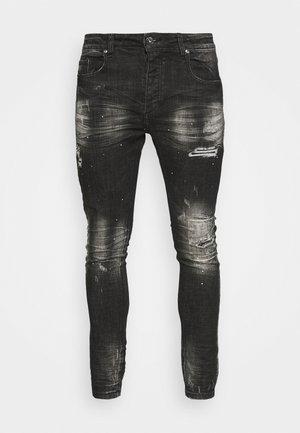 OVERTON SUPERSLIM JEAN - Jeans Skinny Fit - washed black