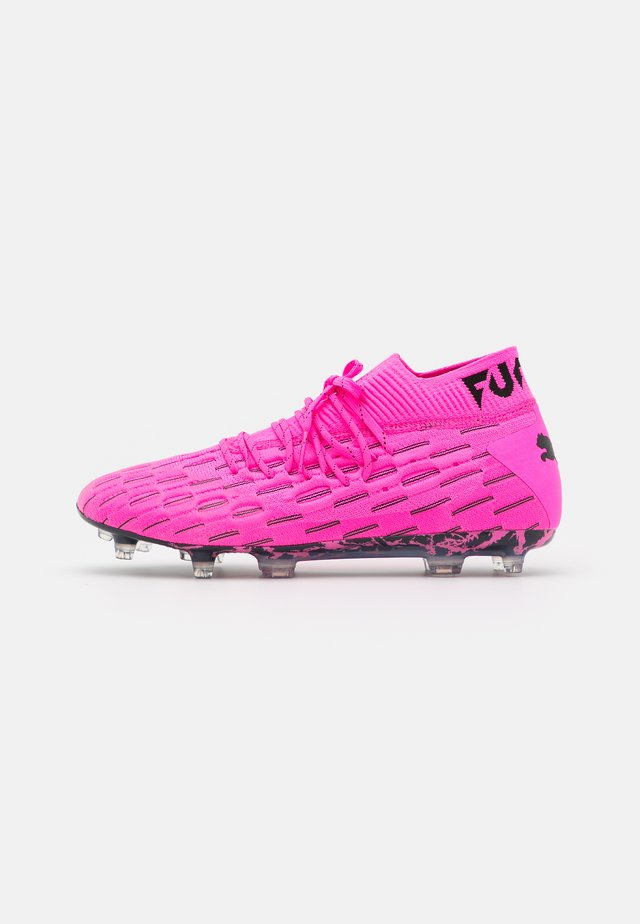 FUTURE 6.1 NETFIT FG/AG - Botas de fútbol con tacos - luminous pink/black