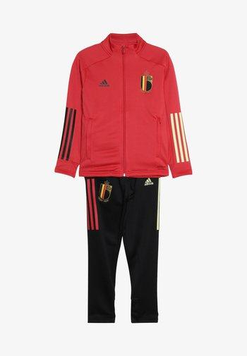BELGIUM RBFA - National team wear - glory red/black