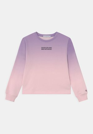GRADIENT LOGO BOXY - Bluza - pink gradient