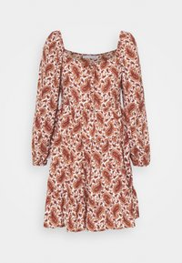 Faithfull the brand - NALINE DRESS - Denní šaty - burgundy - 5