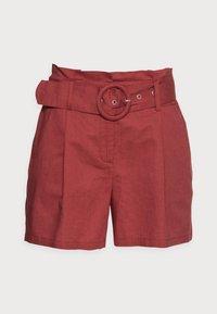 NAF NAF - EFALLIN  - Shorts - terre cuite - 4