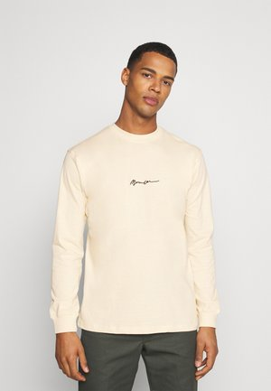 ESSENTIAL SIGNATURE UNISEX - Long sleeved top - sand
