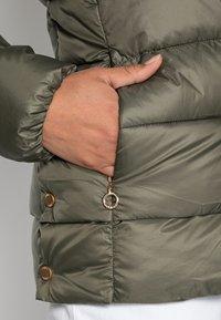 Esprit - PER LL F THINSU - Down jacket - dark khaki - 4