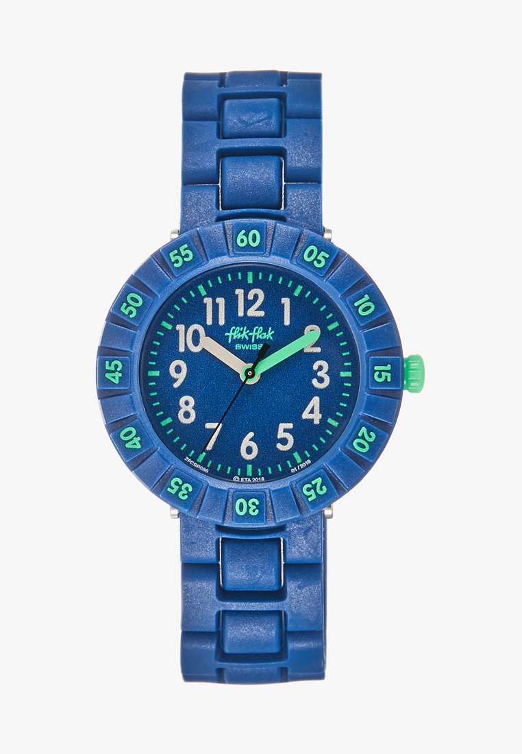 Flik Flak - SOLO BLUE - Hodinky - dunkelblau