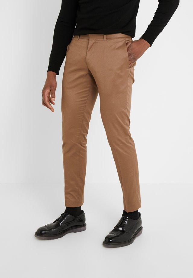 TORD - Pantalon de costume - vintage camel